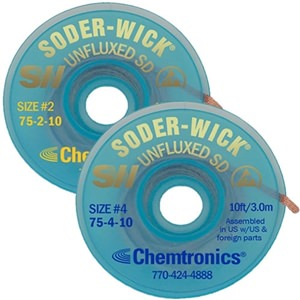 Soder-Wick Unfluxed