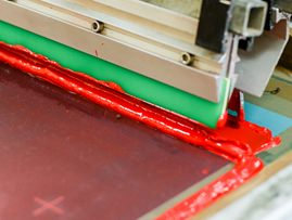Picture of Screen Printing Chemtronics Temporary Solder Masks